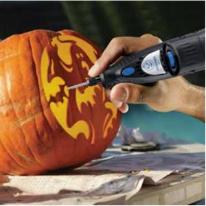 Use a Pumpkin Dremel to Carve Your Pumpkin