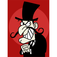Snidely Whiplash Costume