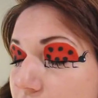 Ladybug Halloween Makeup Tutorial
