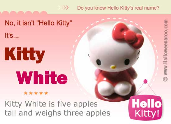 Hello Kitty's Real Name