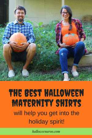 This is a collection of some of the best Halloween maternity shirts that will help pregnant women get into the holiday spirit!