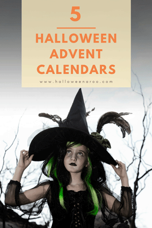 Any of these Halloween countdown calendars is a fun way to get ready for October 31st!