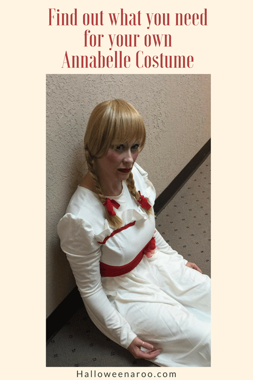 Find out what items you need to create your own Annabelle costume!