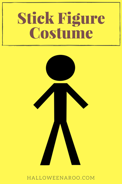 There are several different options if you want to dress up in a stick figure costume. Most use lights, and there are costumes for both adults and kids.