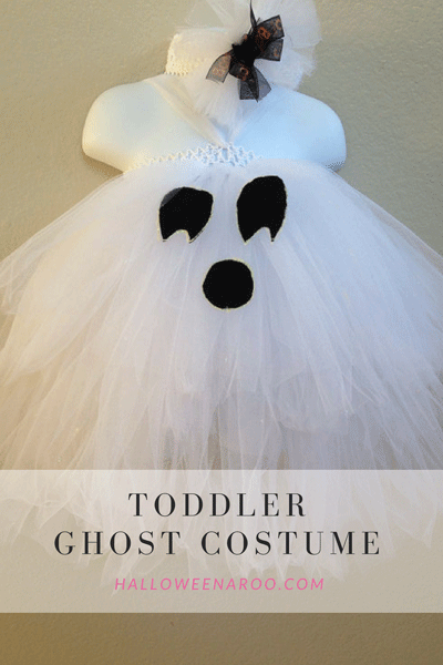 A toddler ghost costume is a fun and traditional way for little ones to get into the Halloween spirit!