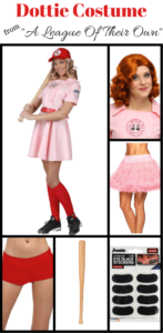 "Dottie Costume From ""A League Of Their Own"""