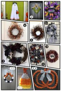 12 Spooktacular Etsy Halloween Wreaths